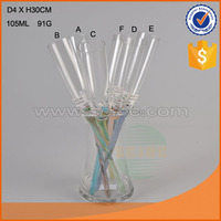 High quality colorful glass champagne vase