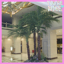 home decor, hall landscaping high imitation artificial palm tree ,plam tree artificial