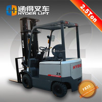 used 2.5ton forklifts sale with battery powered