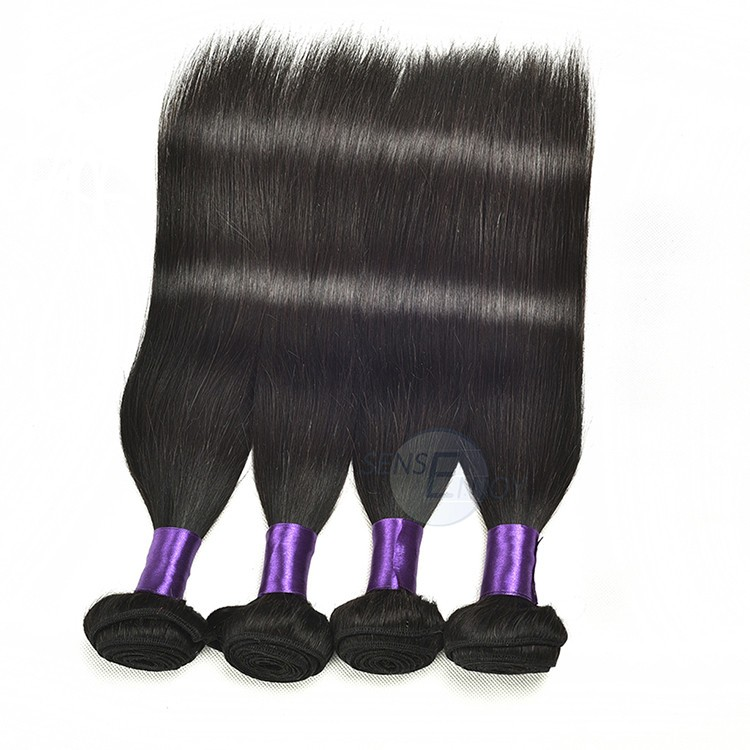 Hair Bundles Wholesale Indian 100 Human High Quality Remy Silky Straight Extension hr10031