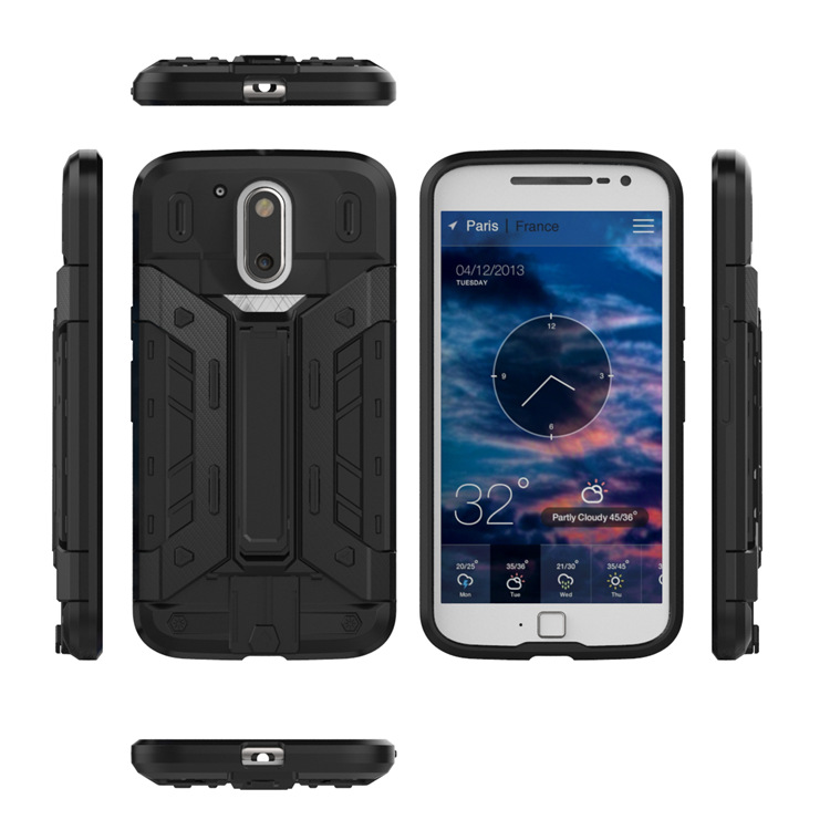 China Supplier Holster card holder Case for Motorola G4 Plus