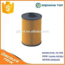 Diesel Engine Spare Parts fuel Filter 16444-NY00J