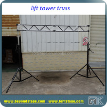 RK Telescopic Lifting Tower/Stage Light truss lift Stand for sale