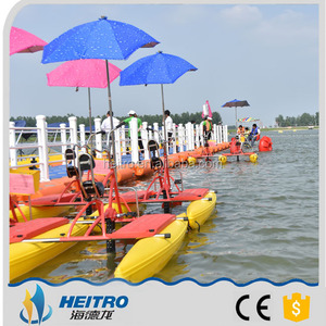 high quality plastic durable water bike use in sea