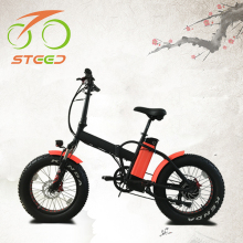 best quality fat tire li-ion battery fastest electric mini e bike with high speed