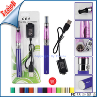 Wholesale Popular Classic eGo CE4 Starter Kit e cigarette,Primum e cig and electronic cigarette starter kit with 1 year warranty