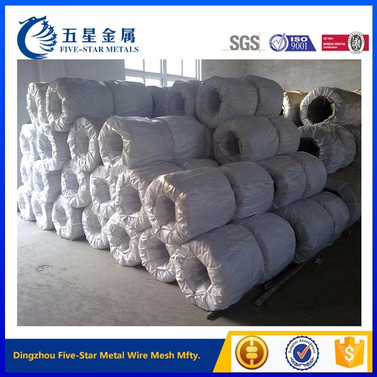 bright and soft galvanized iron wire price factory
