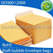 best selling products in europe 2016, yellow kraft bubble envelopes, customized