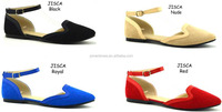 New arrival flat women shoes peach colored Avoid Slip summer sandals flat shoes (JISCA)