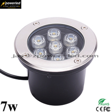 7w IP67 outdoor mounted floor led ground buried light