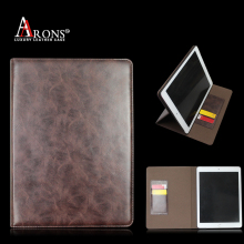 Guangzhou Hot Sale 100% Genuine Leather Tablet Case Leather Case for ipad mini