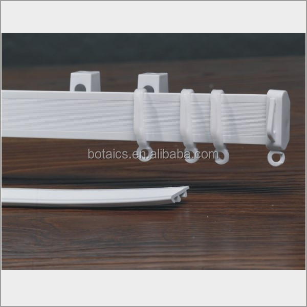 curved room divider,bay window curtain pole,hanging room divider curtain/chain shower curtain