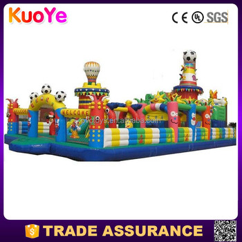 factory direct durable inflatable amusement park,inflatable playground