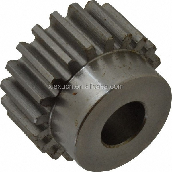 TS16949 plastic double spur gear , power transmission spur gear