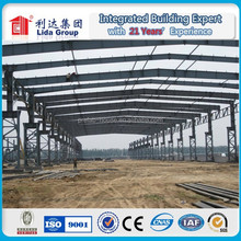 Prefabricated Steel warehouse/workshop/hangar/hall steel structure price