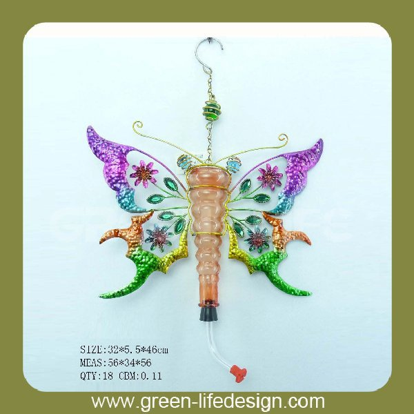 High quality garden decorative hanging butterfly/gorgeous garden decoration