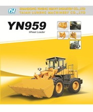 Construction equipment YN959G wheel loader made in China