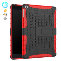 Factory wholesale hybrid protective shell cover for apple ipad case with soft tpu
