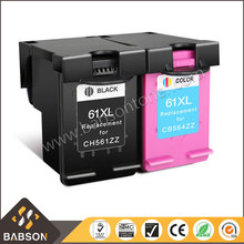 Wholesales Compatible ink cartridge 61 xl cartridge for hp printer ink cartridge