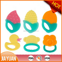 100 Food Grade Silicon Baby Teether