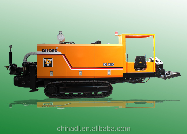 36T cable laying equipment DL360 for trenchless drilling