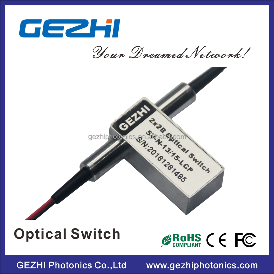 1x1 Opto-Mechanical Optical Switches