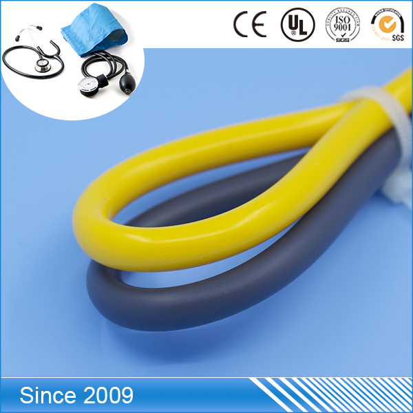 Medical grade Apply to single head stethoscope colorful pvc tubes