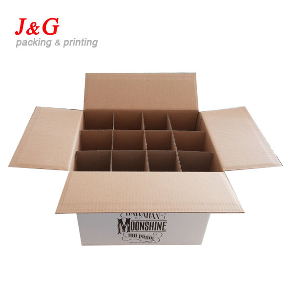 clear wine glass packing box