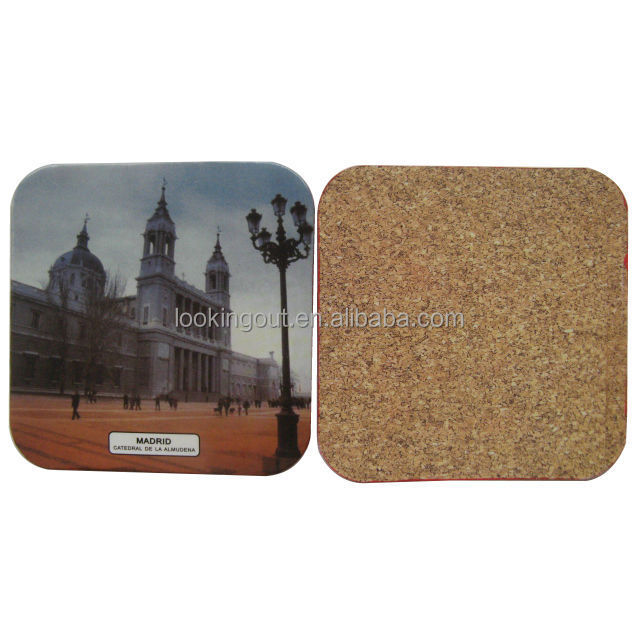 printable 2017 new arrival mdf cork table mat coaster mat