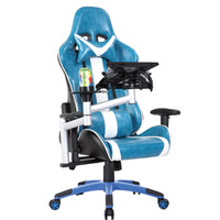 Popular high quality swivel office chair commerical gaming office chair adjustable luxury office chair with Lumbar Pad WN-6600