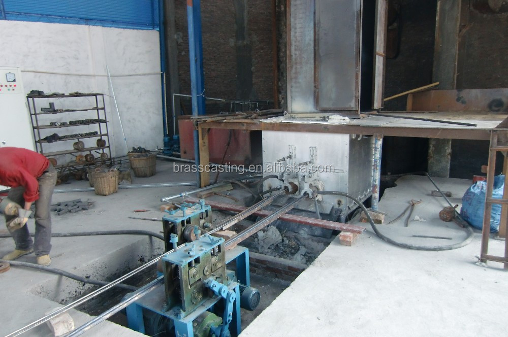 medium frequency induction melting furnace for copper