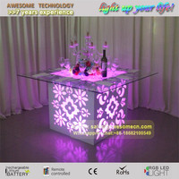 5ft 5.6ft 6ft LED Perspex illuminated Banquet tables