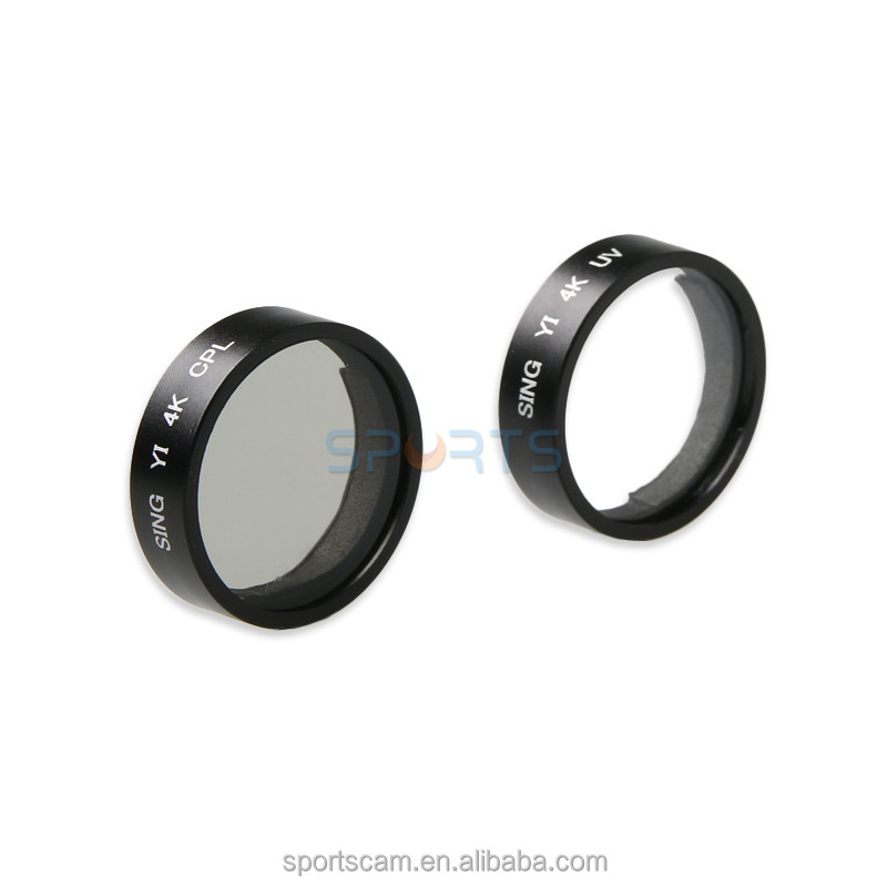 CPL UV Filter For Xiaomi Yi 2 Lens Protector CPL Filter For Xiaomi YI 4K Action Camera Accessories