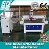 hot sale 2d 3d carving vacuum table 3.5kw spindle cnc router woodworking machine SD-1325