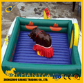 indoor children inflatable ride mechanical bull rodeo