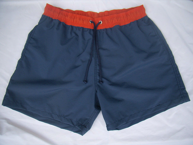 nylon contrast waistband boardshort surf shorts beach shorts for father and son