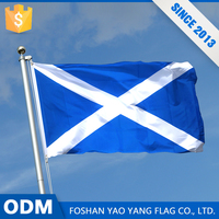 Made In China Excellent Quality Custom Polyester Fabric Scotland Flag