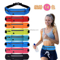 New design sport belt bag for runing,sport waist bag for girls and men