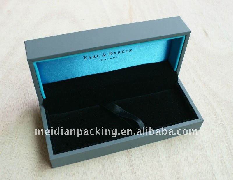 Luxury wholesale single lightweight wood pen box