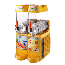 two tank Granita slush machine/slush maker/smoothie slush machine