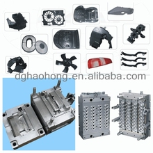 Custom plastic injection molding