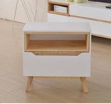 Hot sell Nordic wood small bedside table night stand