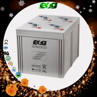agm gel battery for uninterruptible system deep cycle 2v1600ah battery