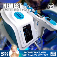Seaheart 2016 Newest Meso Gun/Water mesotherapy Beauty Machine for Skin Lift and wrinkle removal /water meso injector