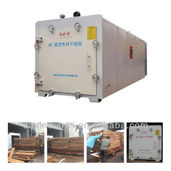 high frequency vacuum wood drying kiln equipment