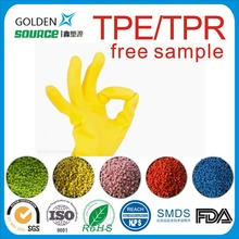 TPE TPR for injection blow molding fda grade thermoplastic elastomer TPR globule for gloves