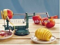 manual cast iron apple peeler with suction