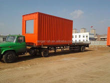 Standard size steady real estate container house