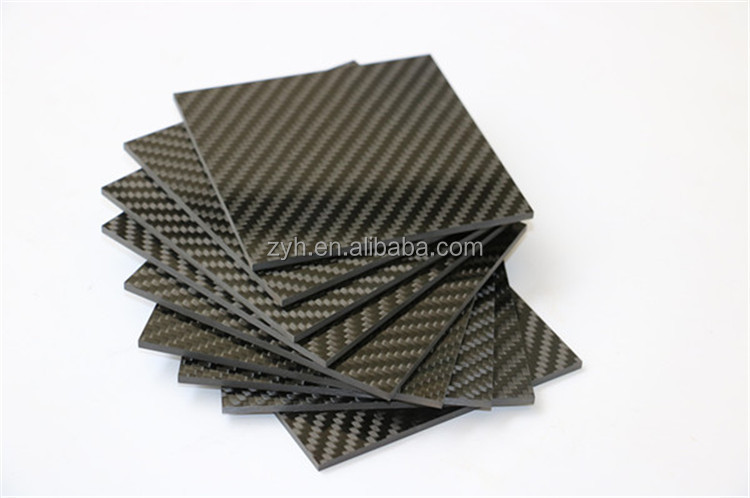 High quality cheap 1K 1.5K 3K carbon fiber plate Sheet 1mm 2mm 3mm 4mm 5mm