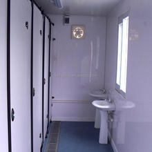 prefabricated modular container public mobile bathrooms and toilets